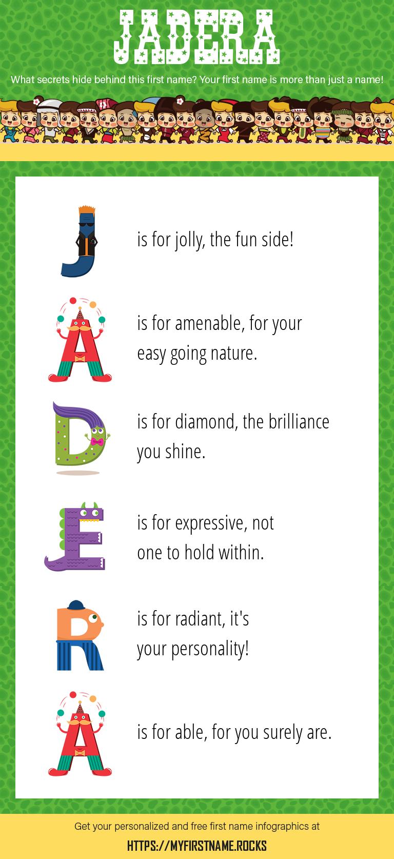 Jadera Infographics
