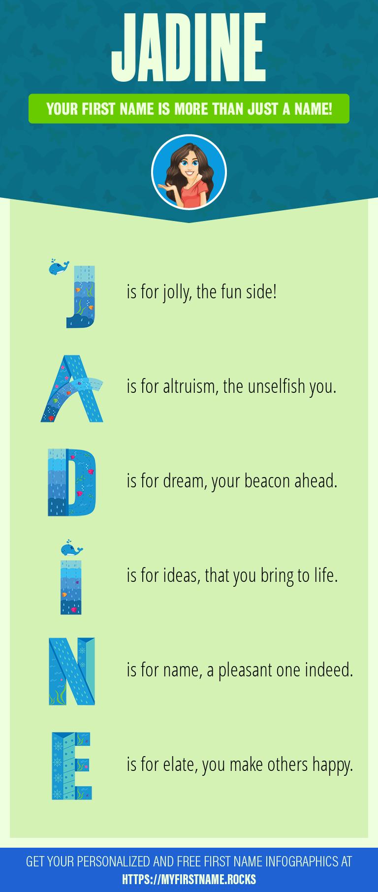 Jadine Infographics