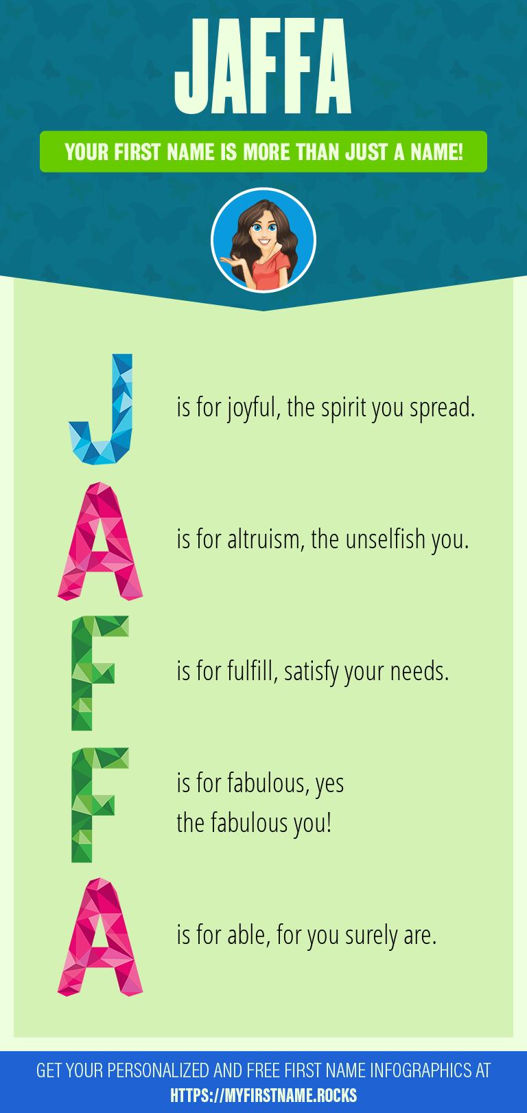 Jaffa Infographics