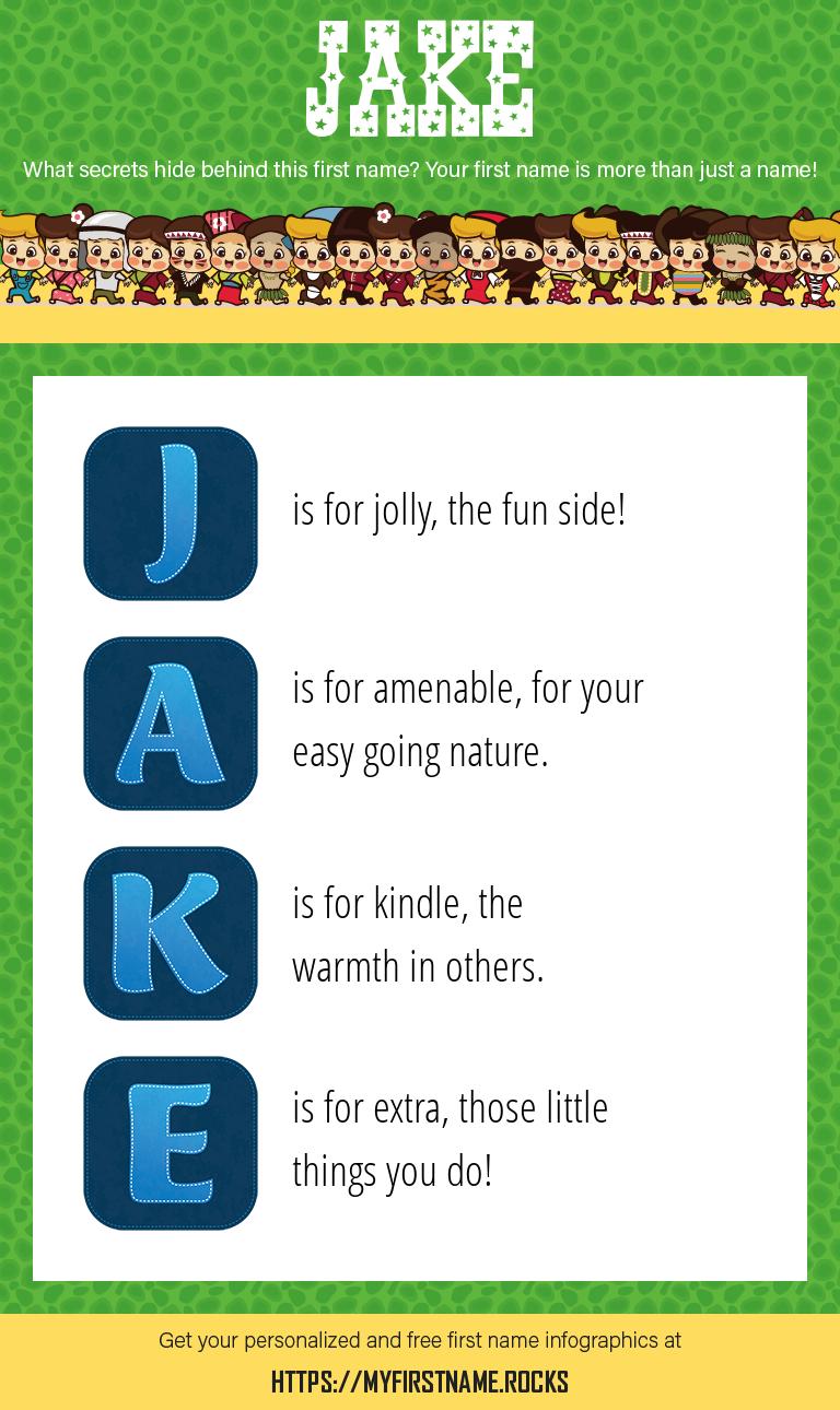Jake Infographics