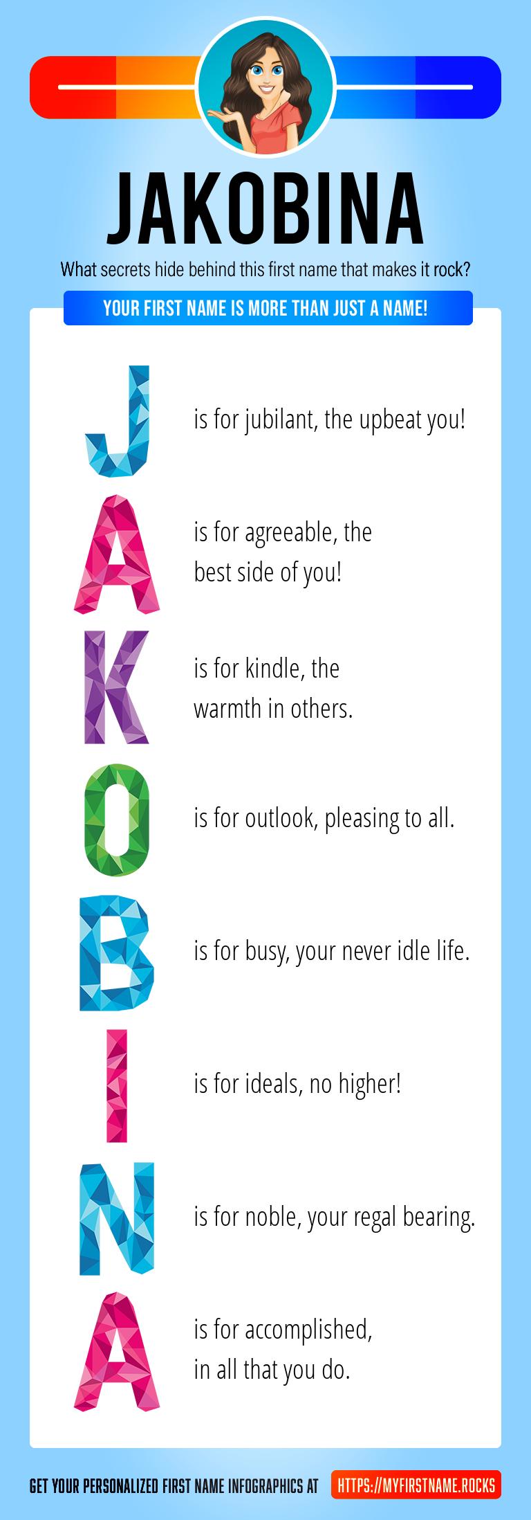 Jakobina Infographics