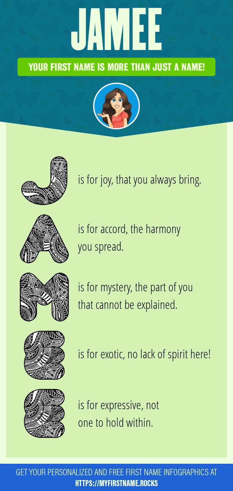 Jamee Infographics