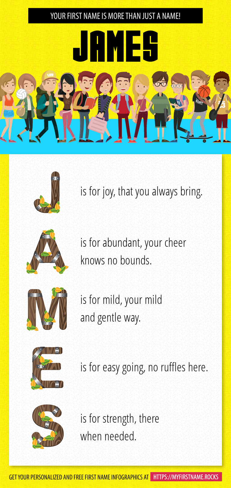James Infographics