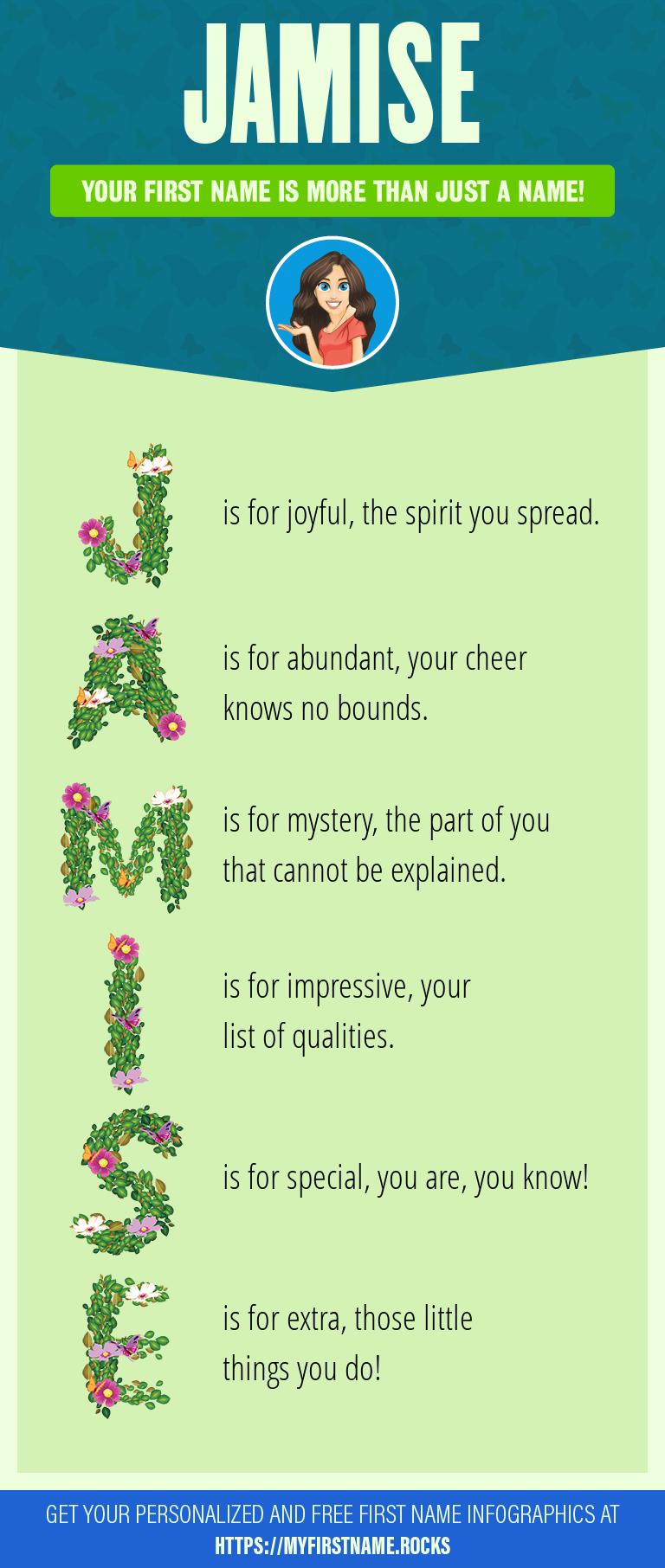 Jamise Infographics