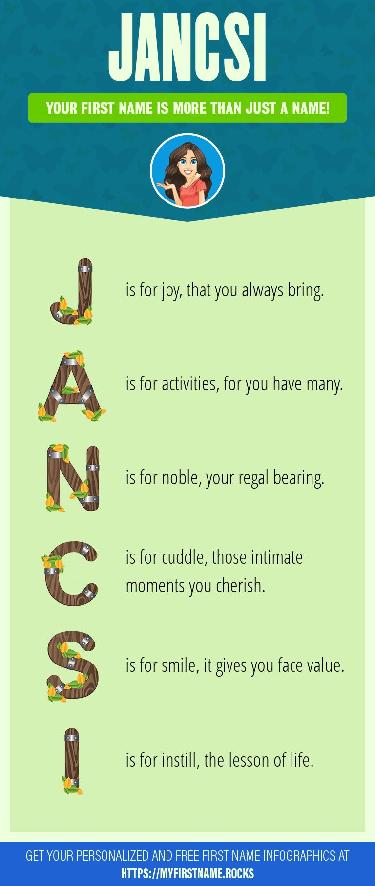Jancsi Infographics