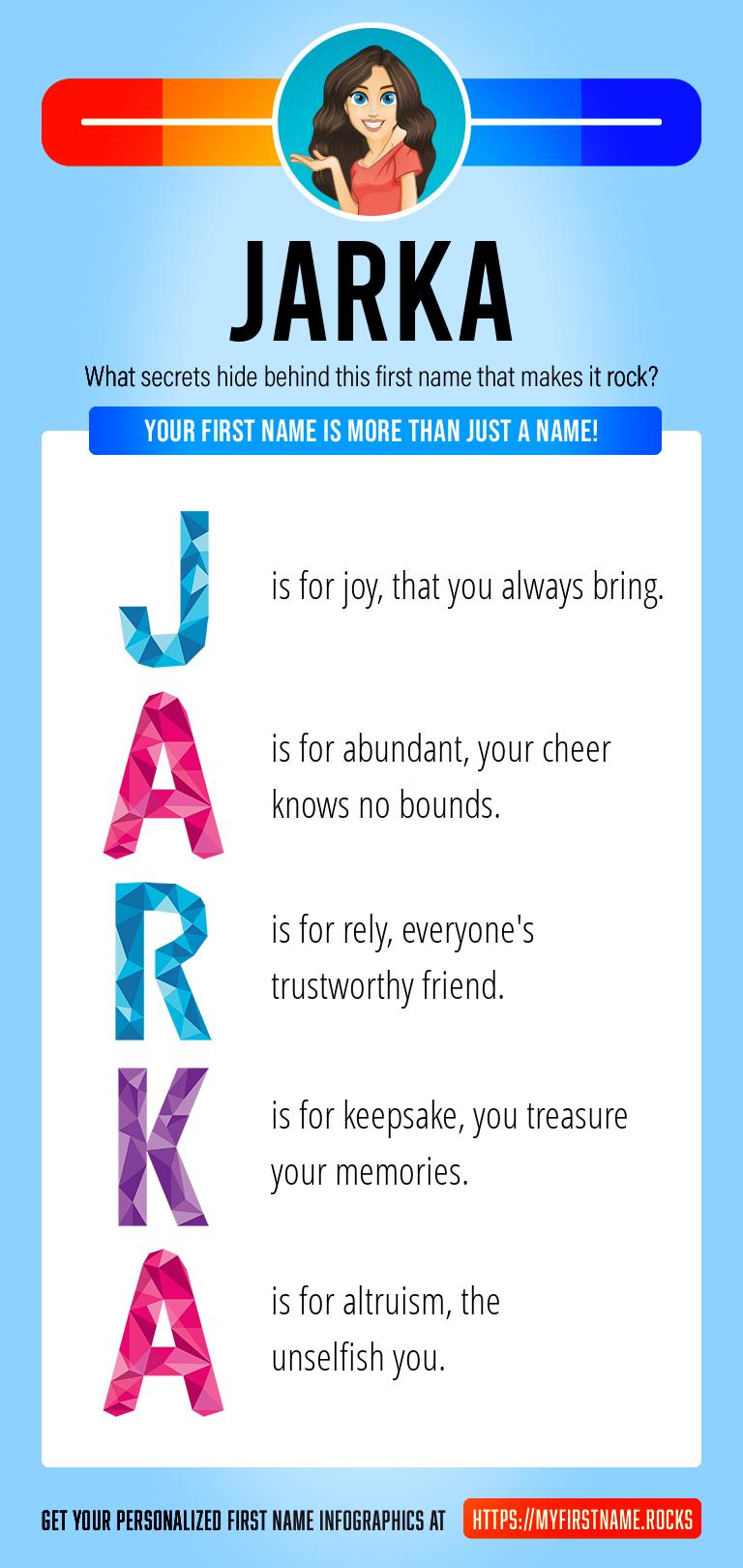 Jarka Infographics