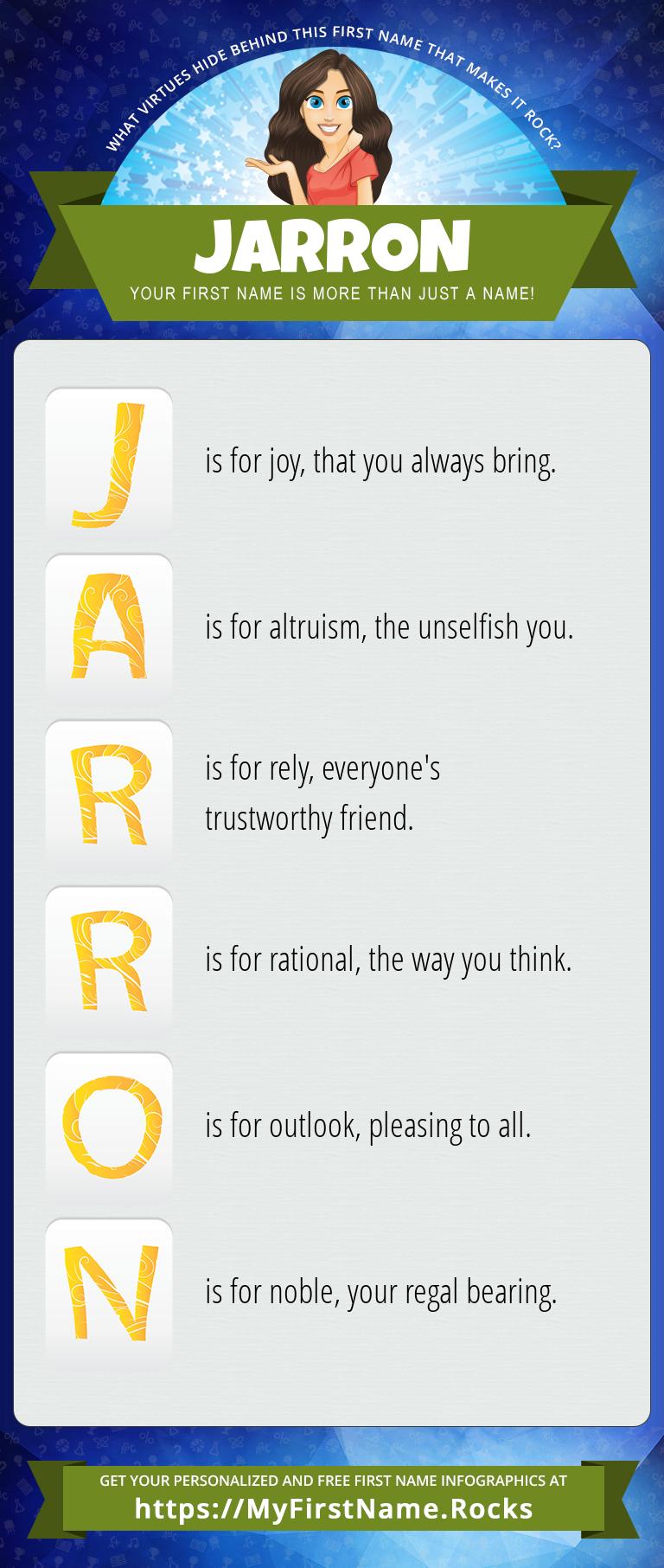 Jarron Infographics