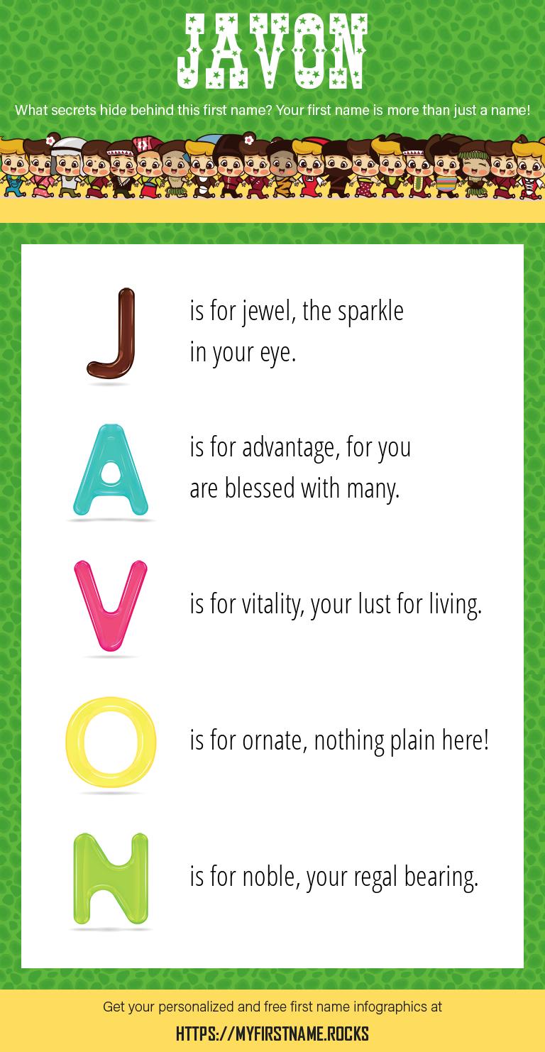 Javon Infographics