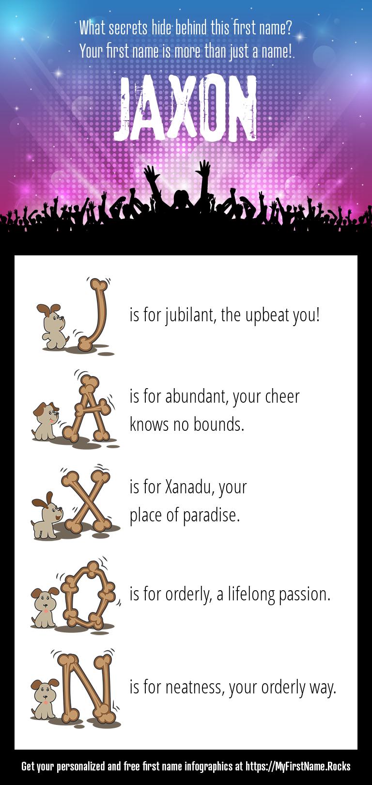 Jaxon Infographics