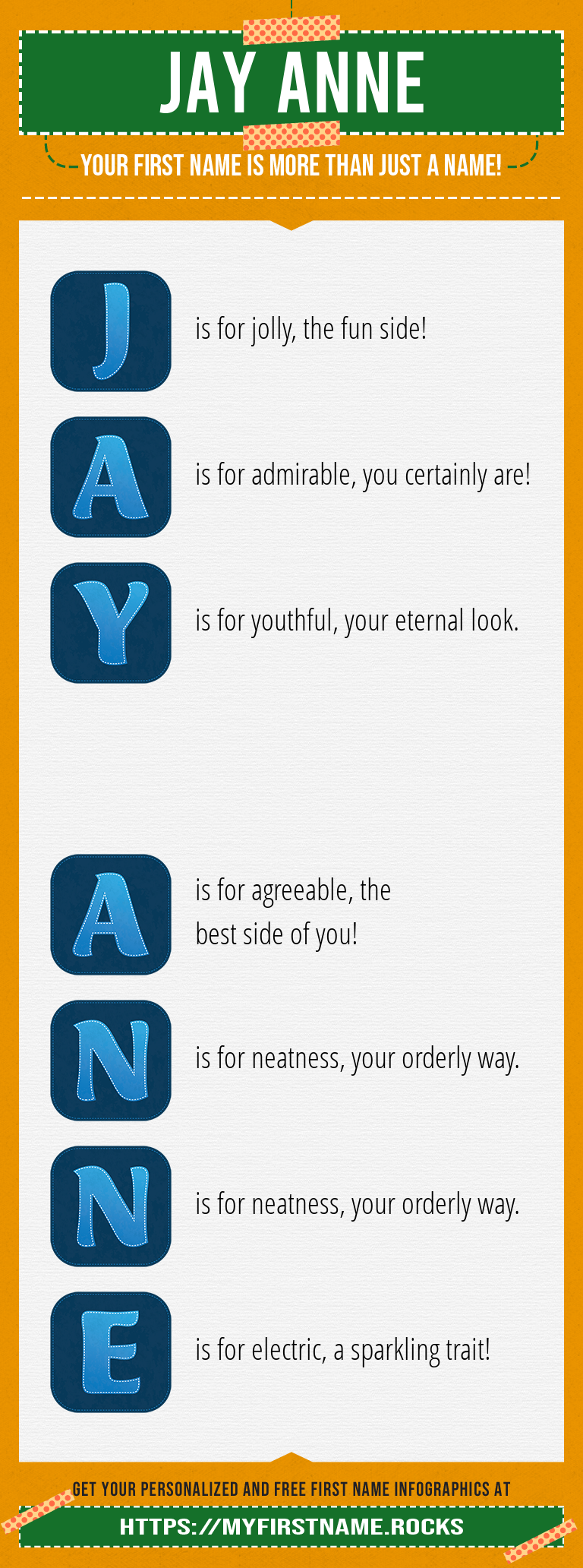Jay Anne Infographics
