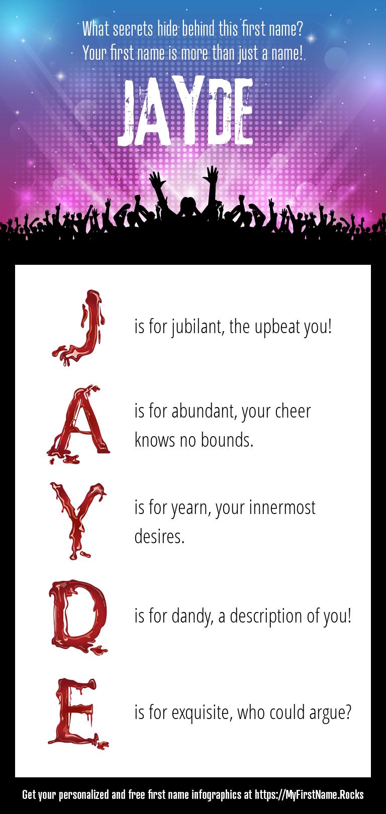 Jayde Infographics