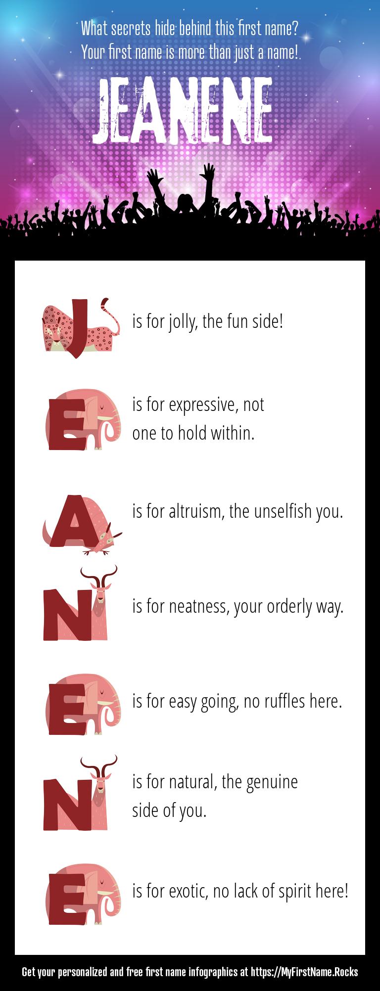 Jeanene Infographics