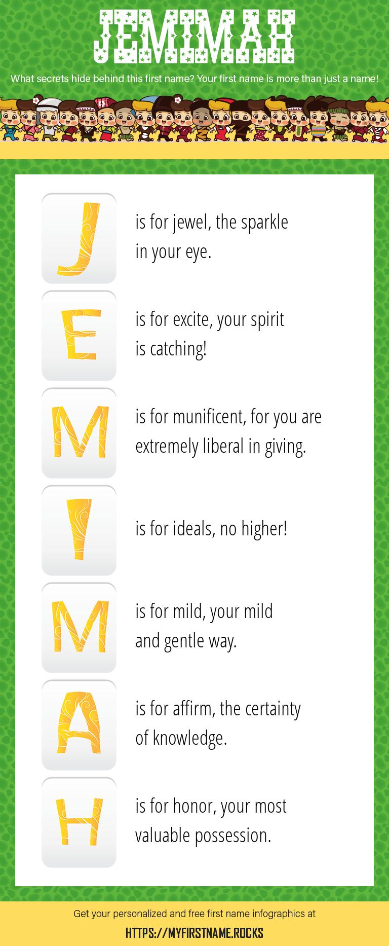 Jemimah Infographics