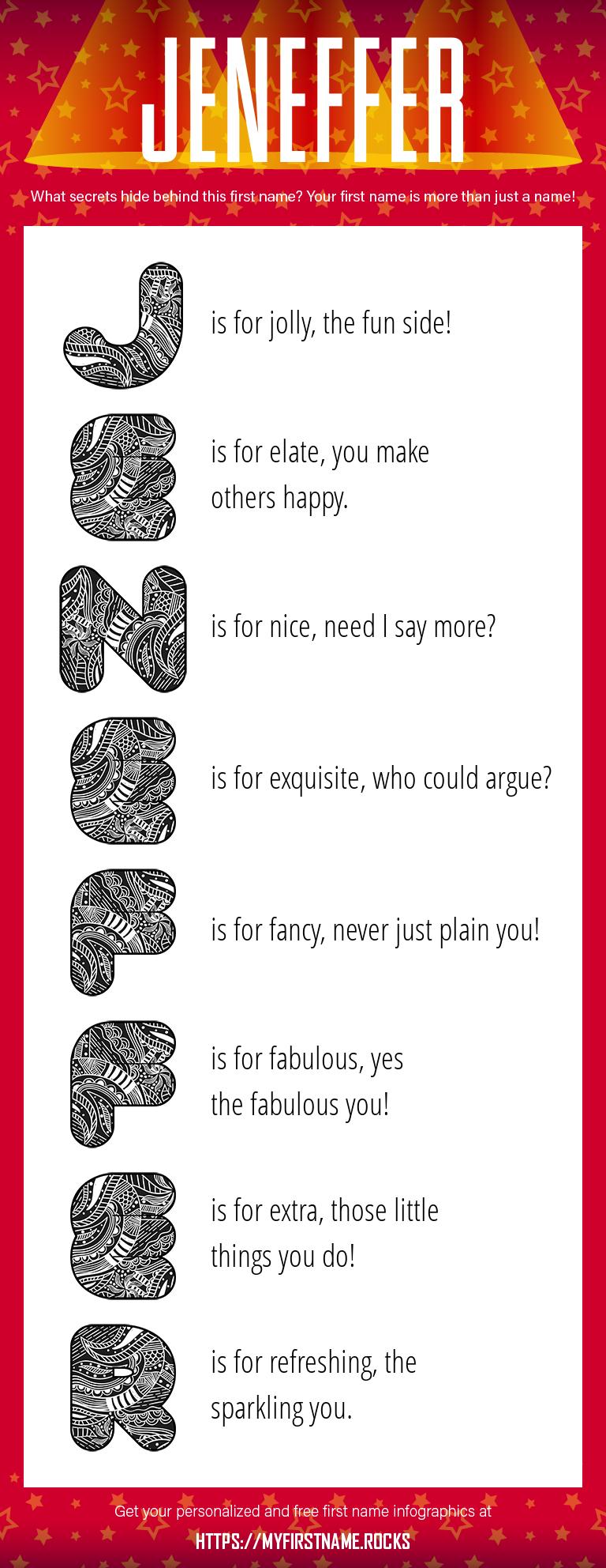 Jeneffer Infographics
