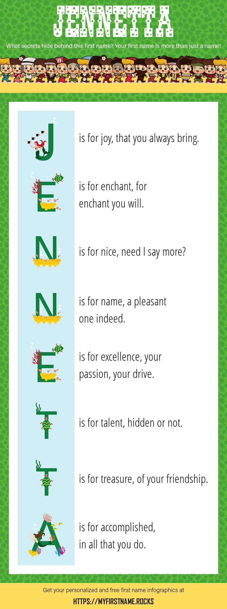 Jennetta Infographics