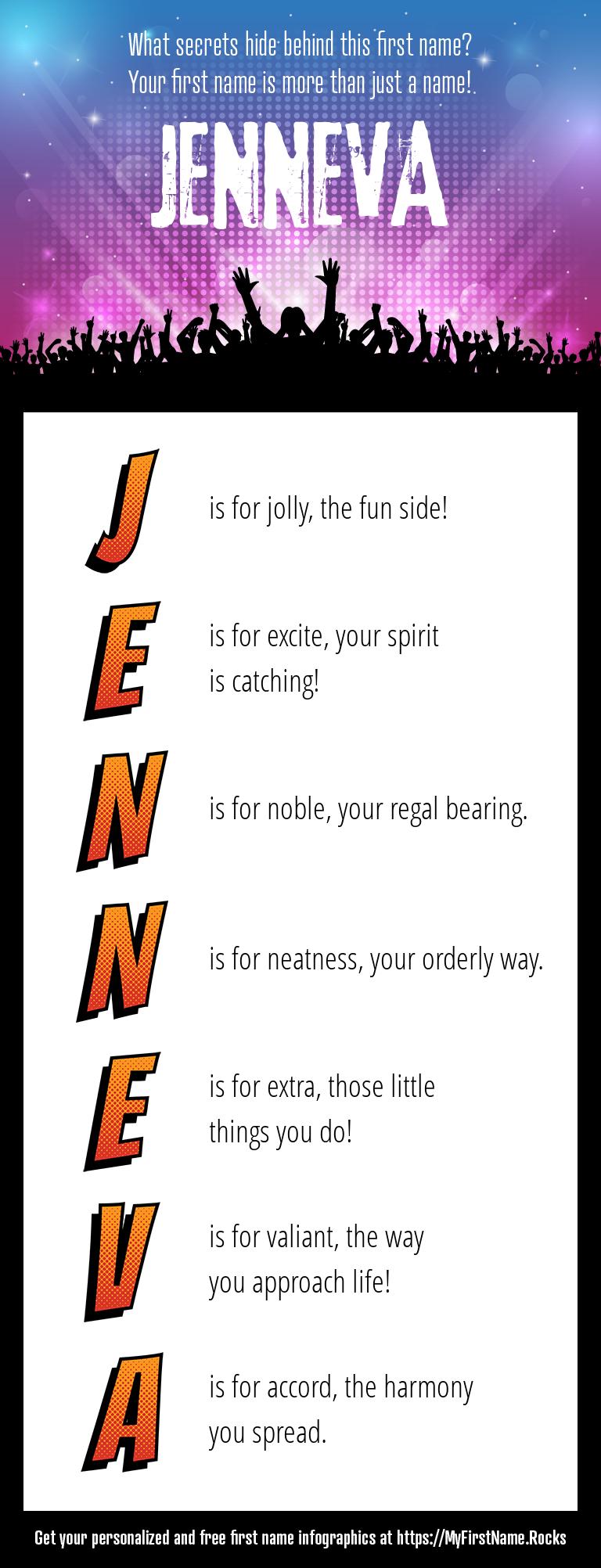 Jenneva Infographics