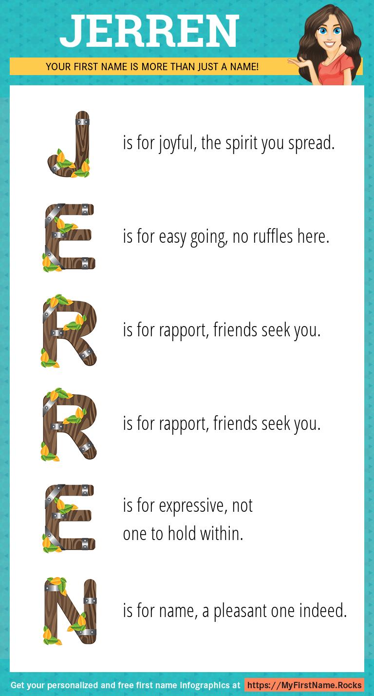 Jerren Infographics