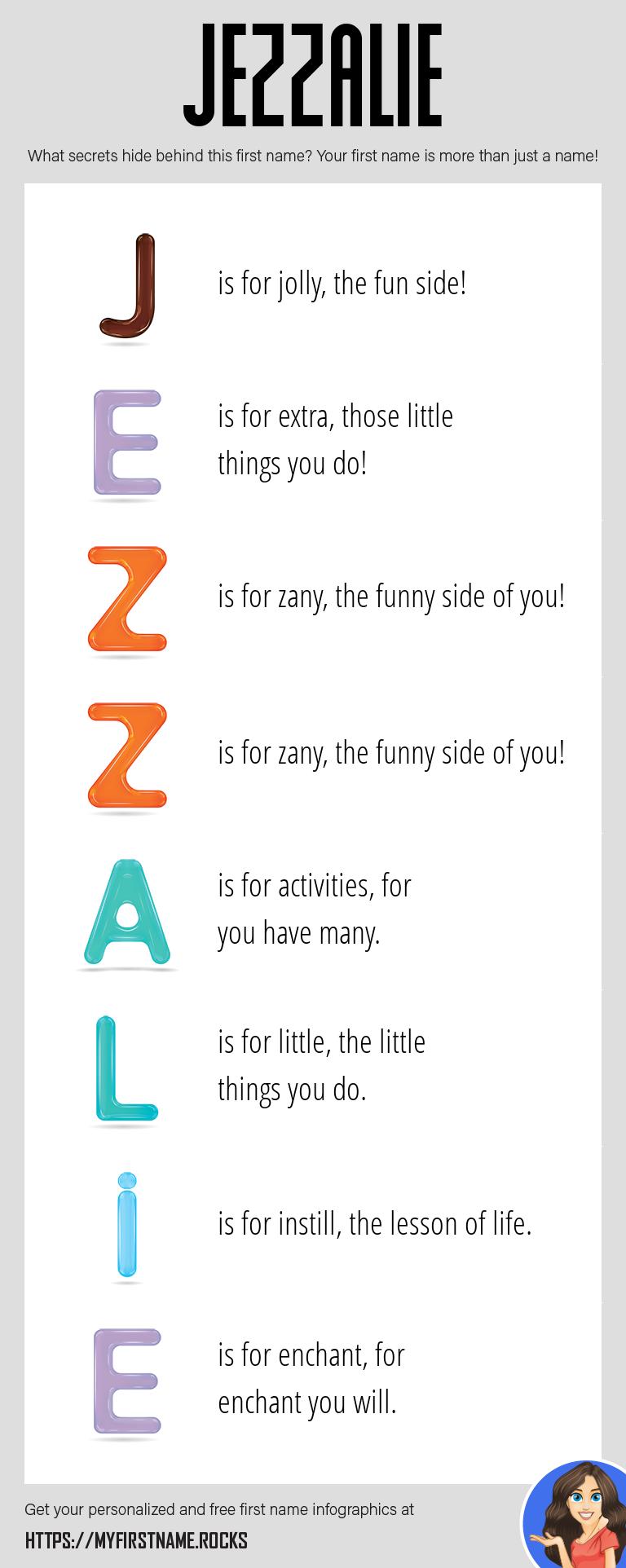 Jezzalie Infographics