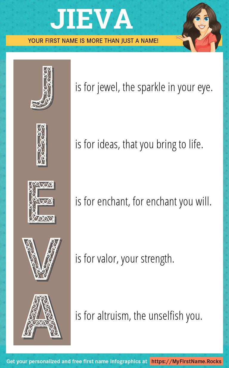 Jieva Infographics