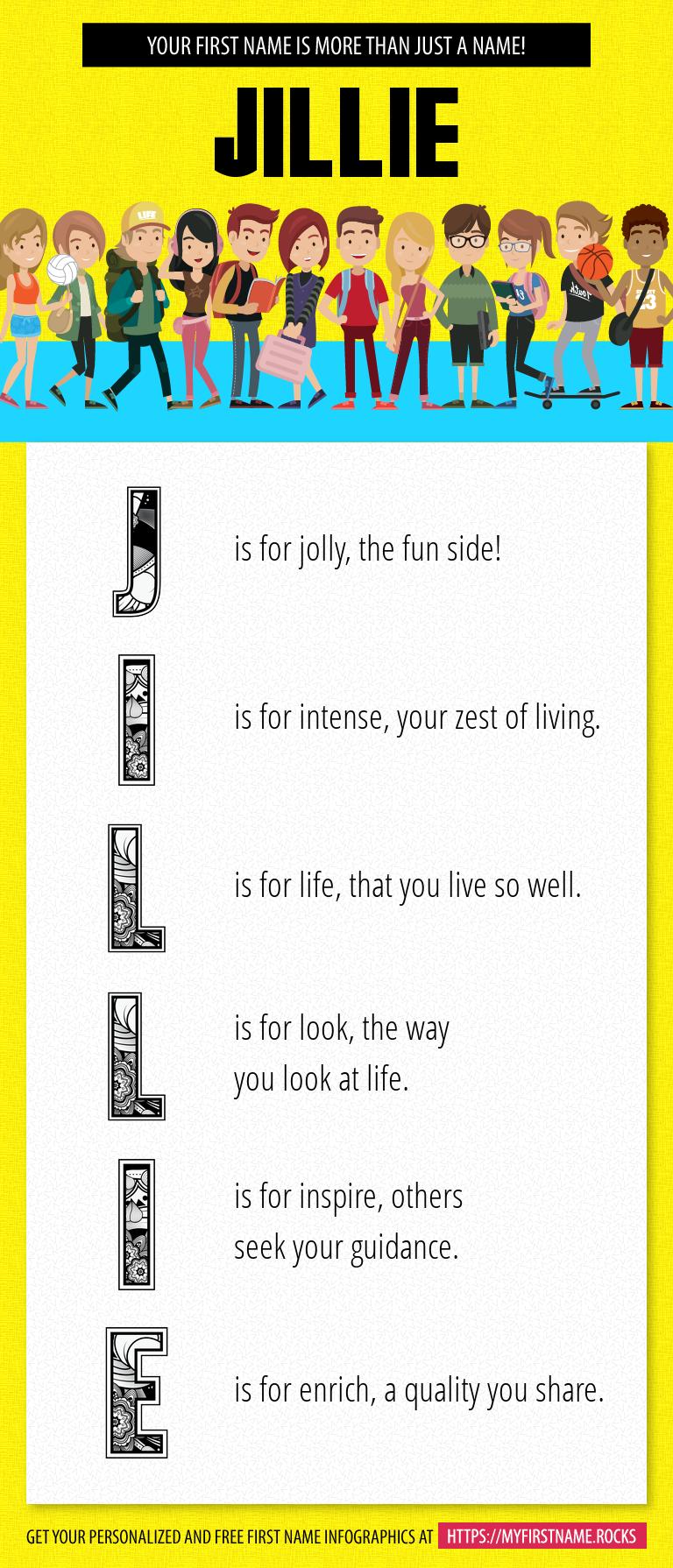 Jillie Infographics