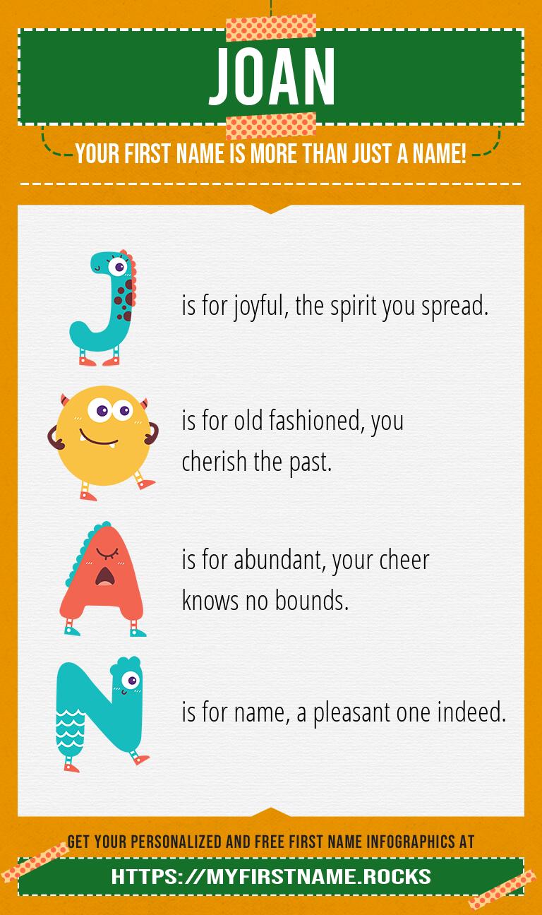 Joan Infographics