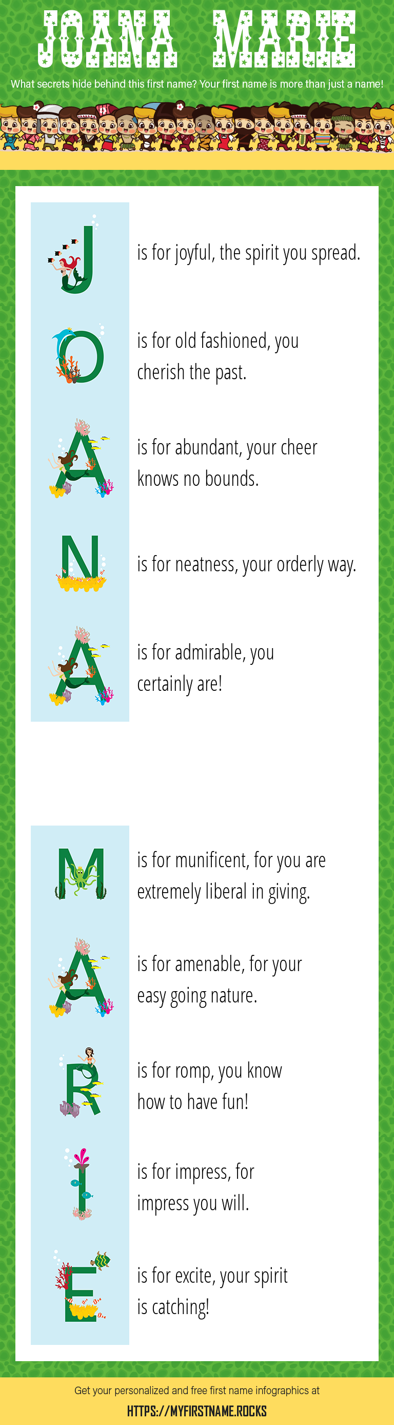 Joana Marie Infographics