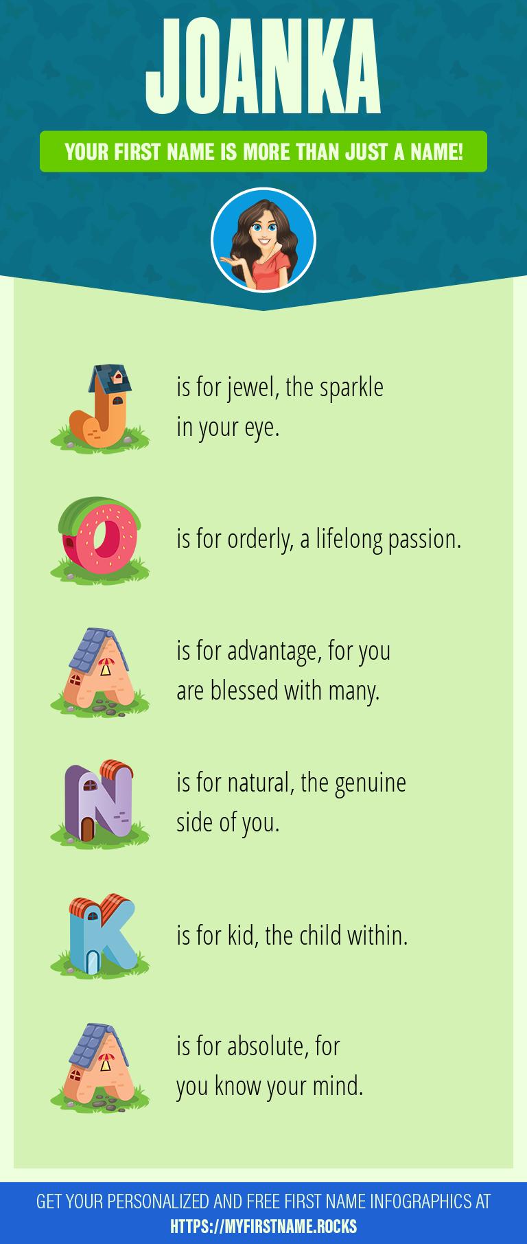 Joanka Infographics