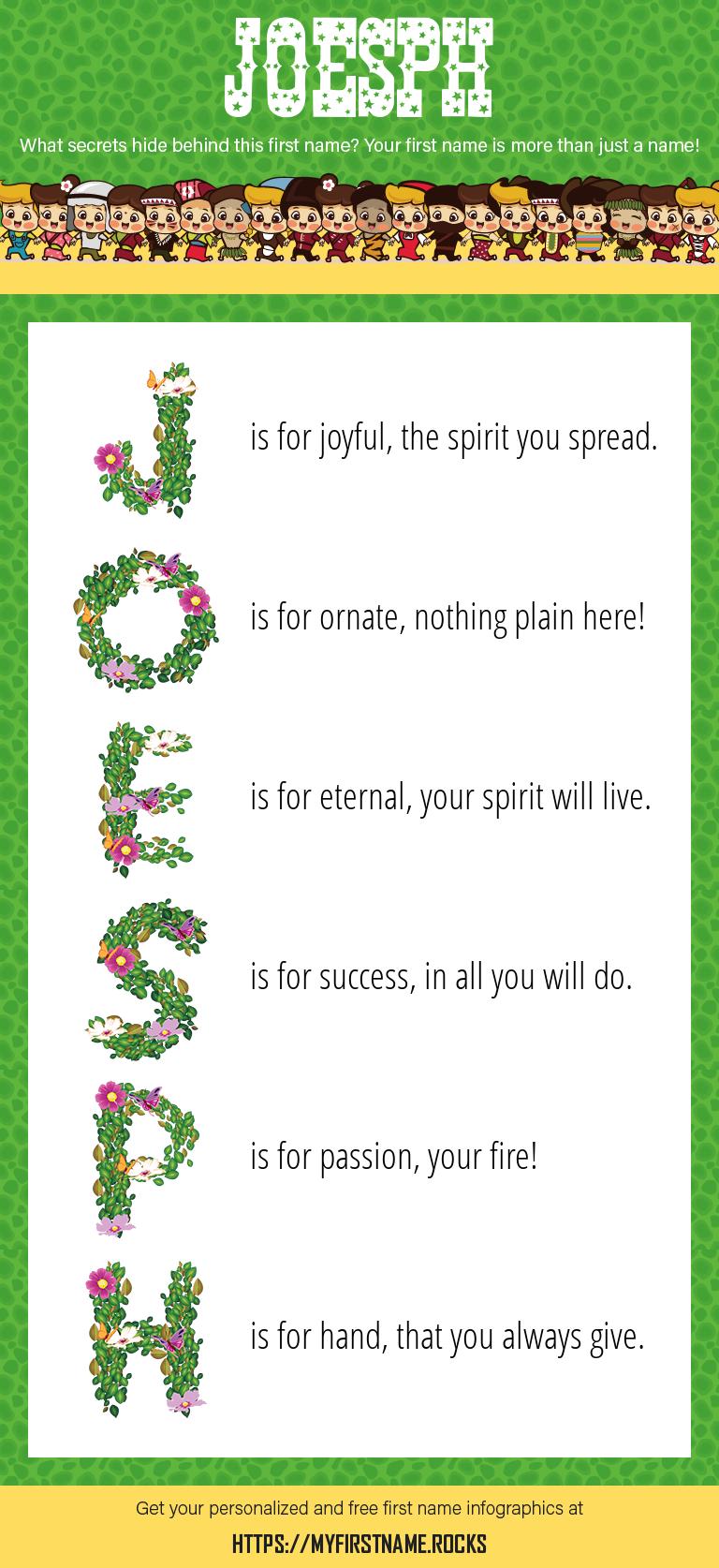 Joesph Infographics