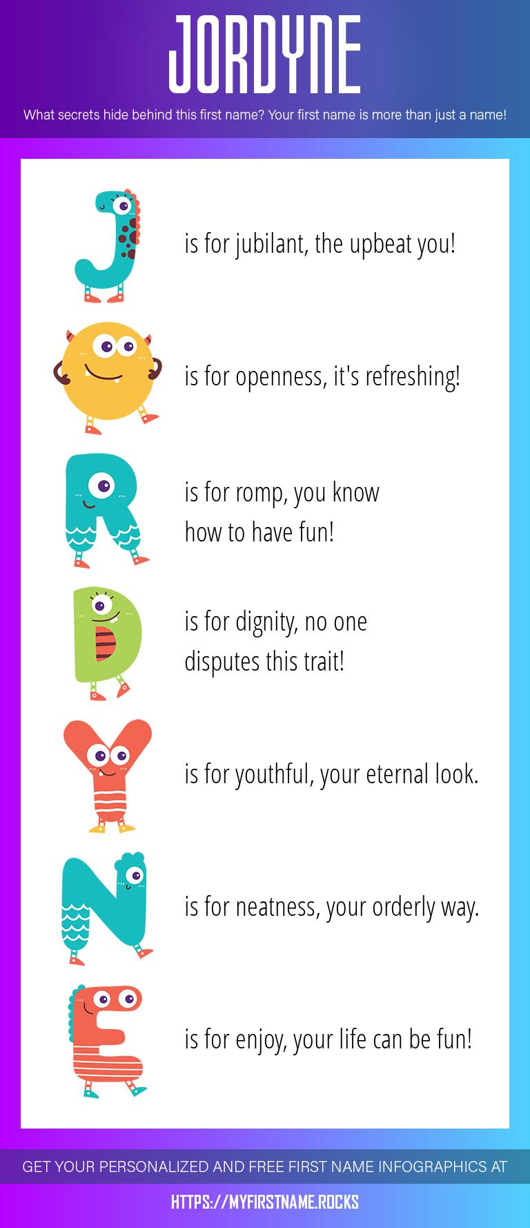 Jordyne Infographics