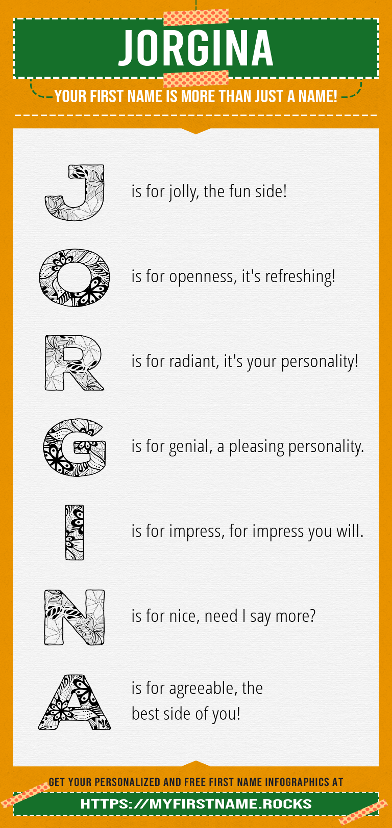 Jorgina Infographics