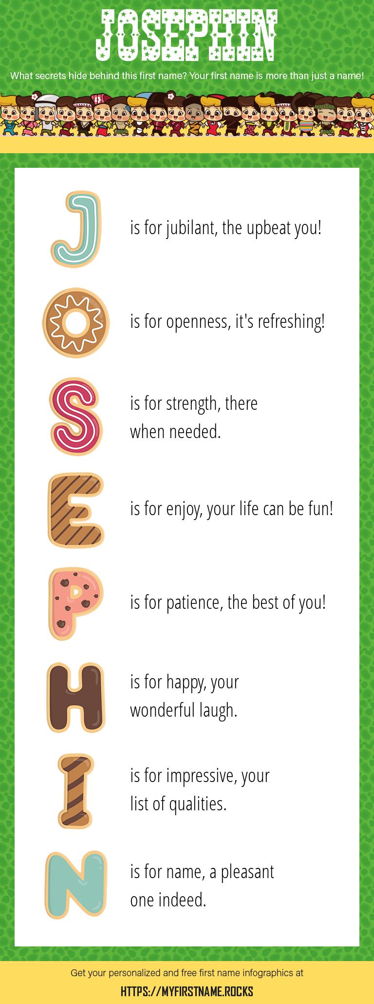 Josephin Infographics