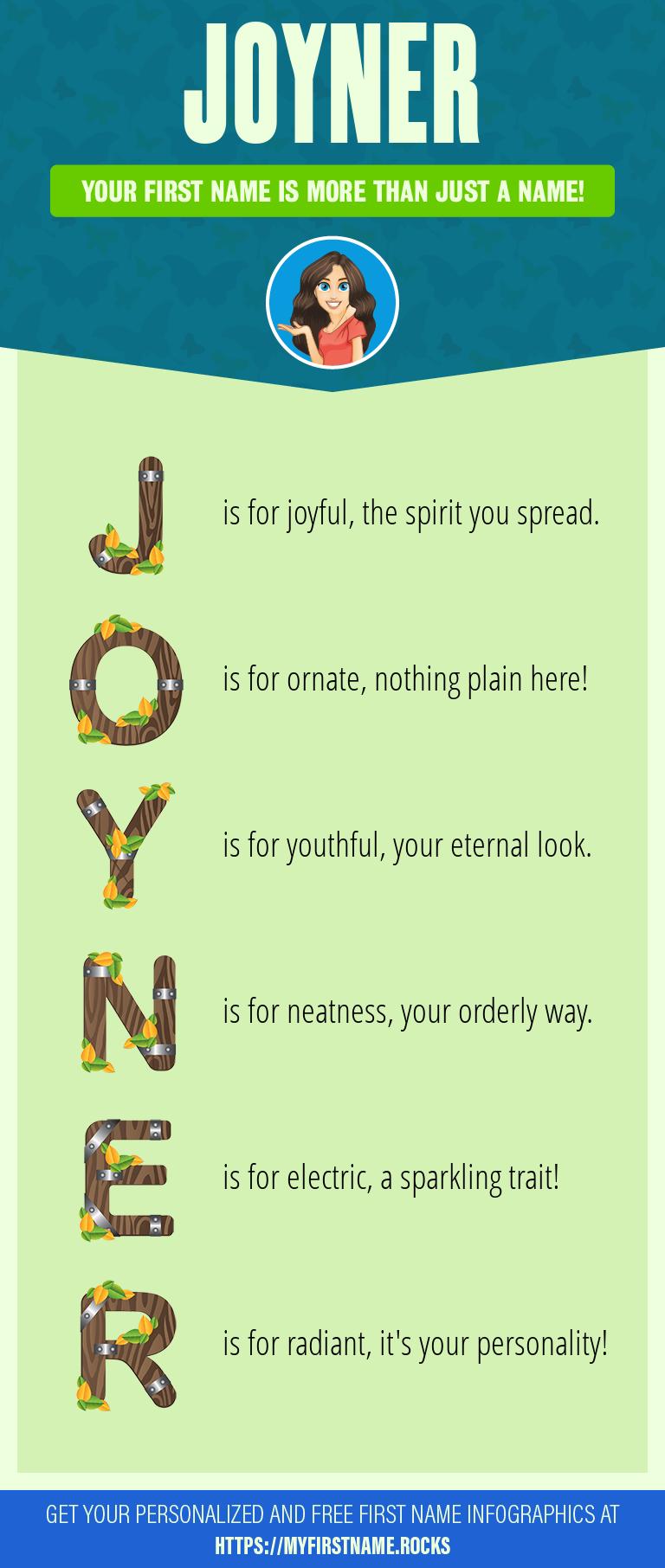 Joyner Infographics