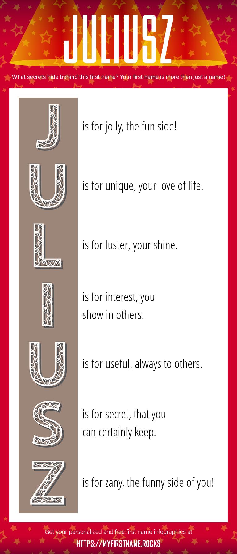 Juliusz Infographics