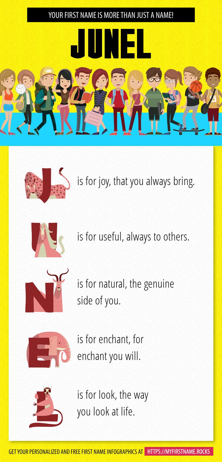 Junel Infographics