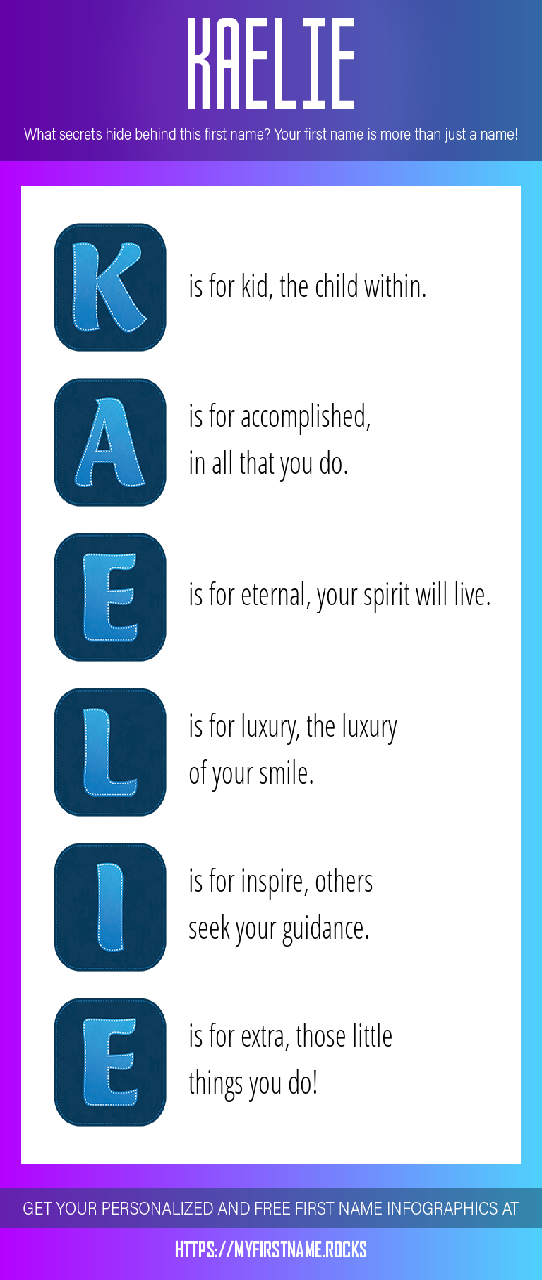 Kaelie Infographics