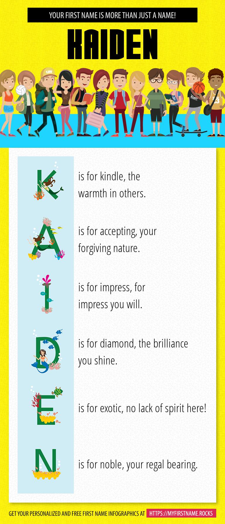 Kaiden Infographics