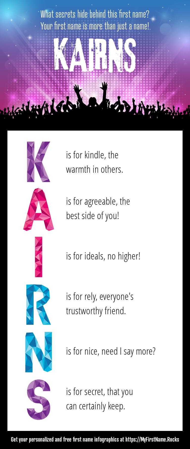 Kairns Infographics
