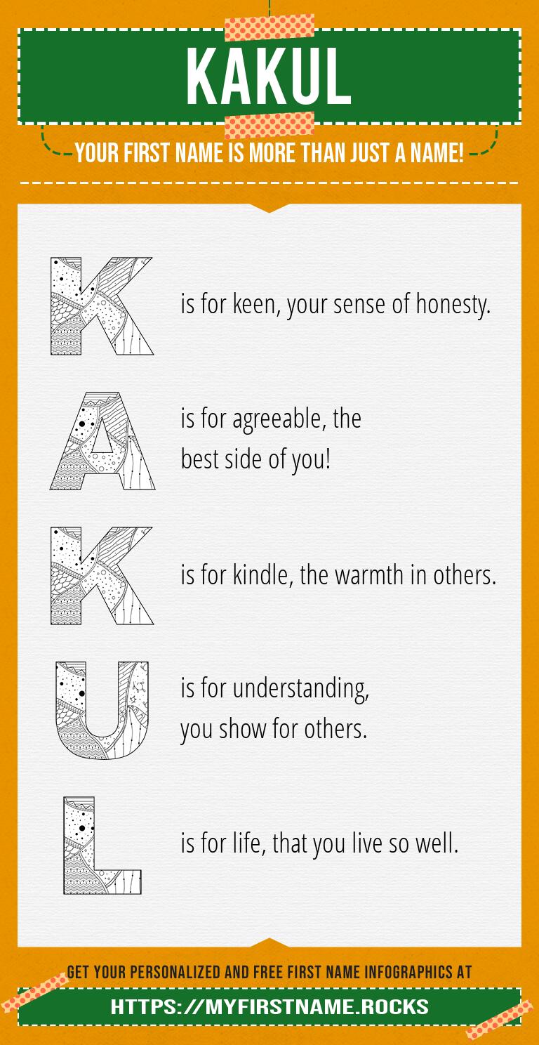 Kakul Infographics
