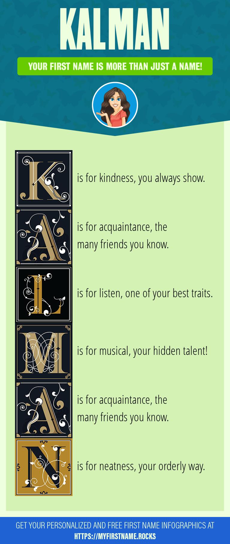 Kalman Infographics