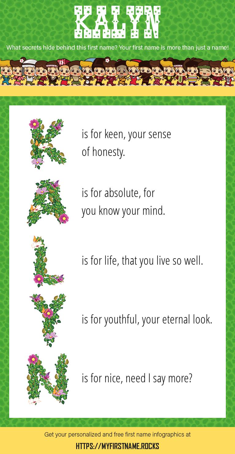 Kalyn Infographics
