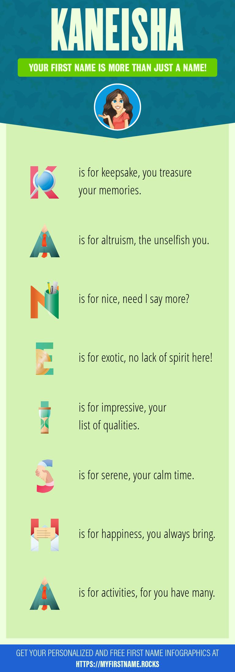Kaneisha Infographics