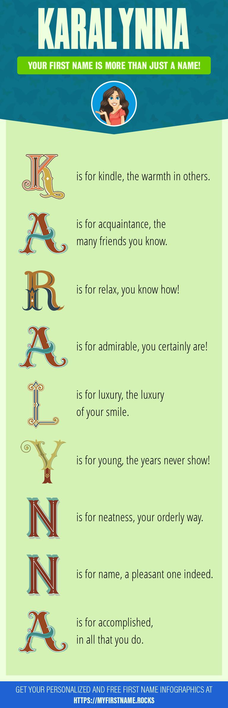Karalynna Infographics