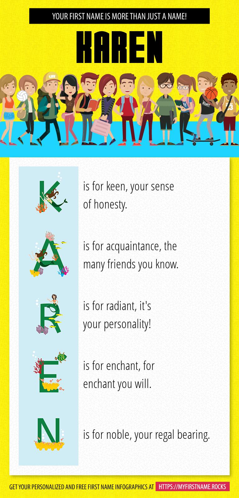 Karen Infographics