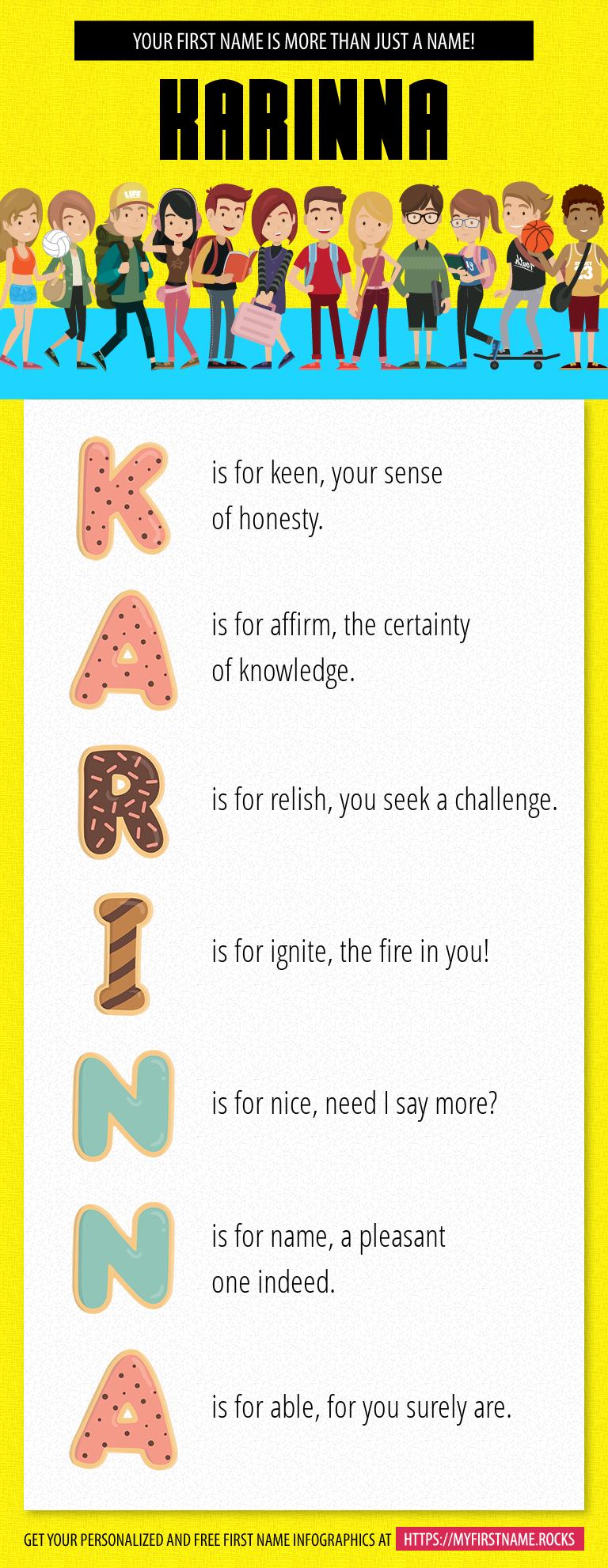 Karinna Infographics