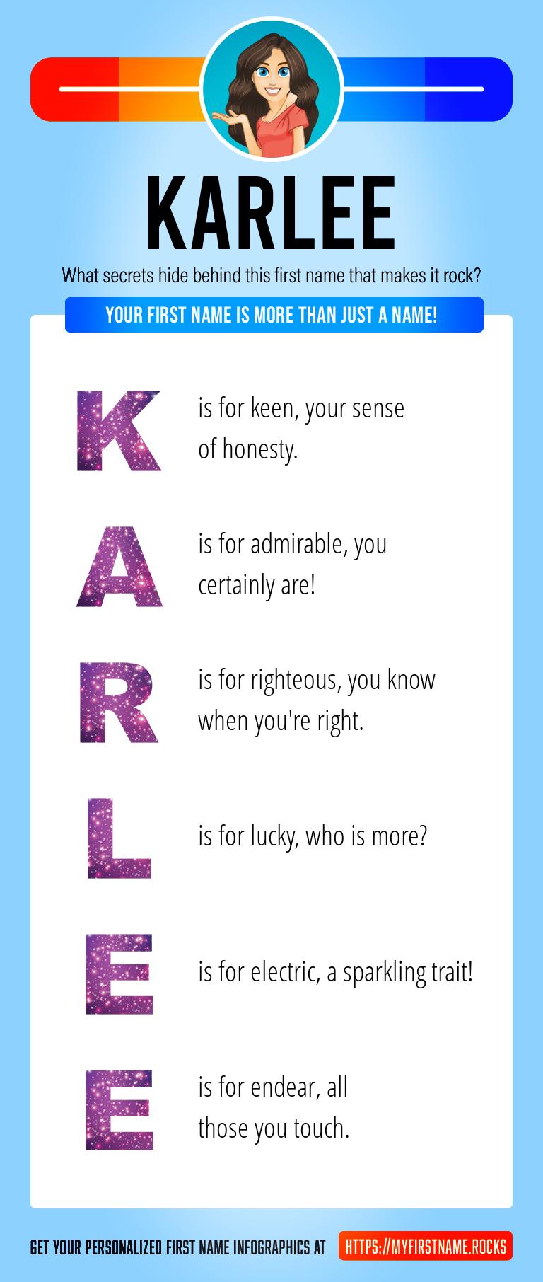 Karlee Infographics