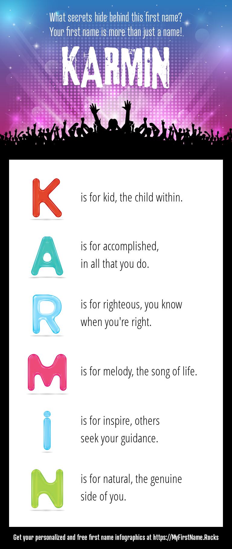 Karmin Infographics