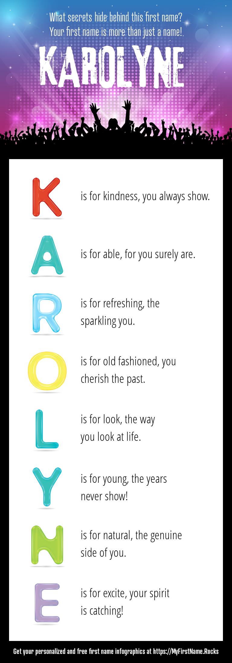 Karolyne Infographics