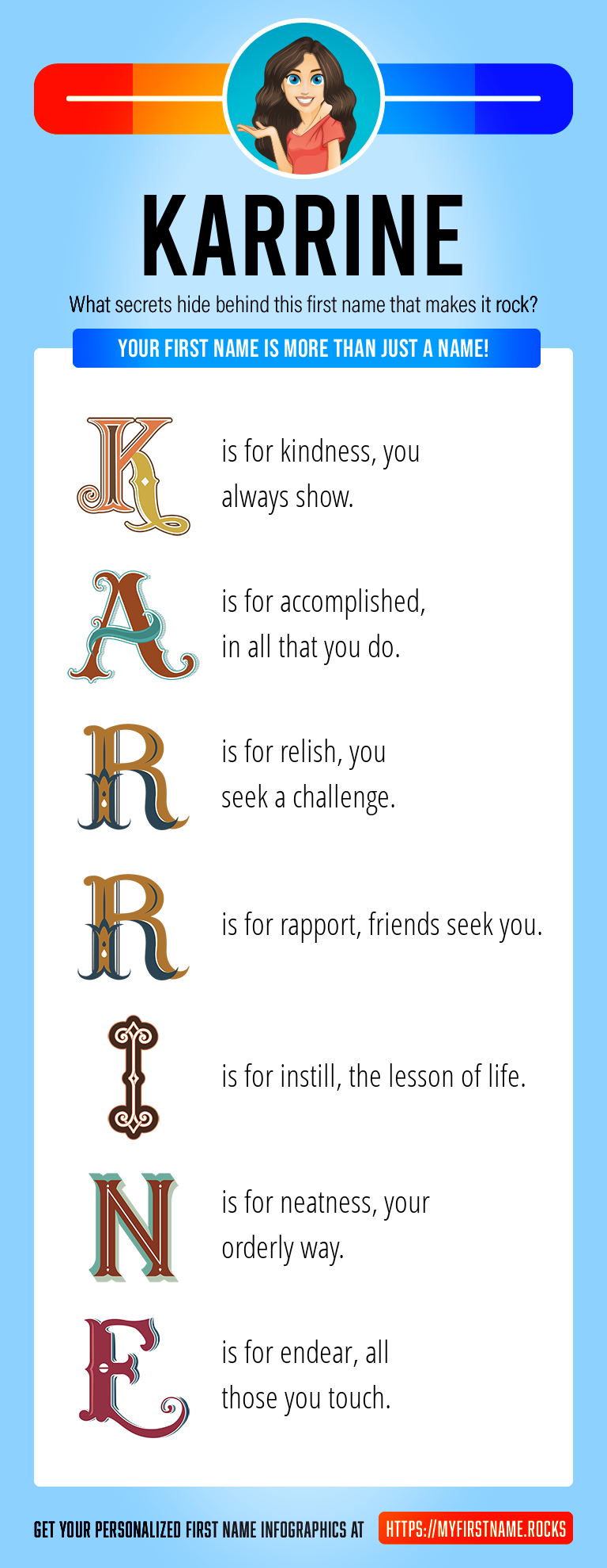 Karrine Infographics