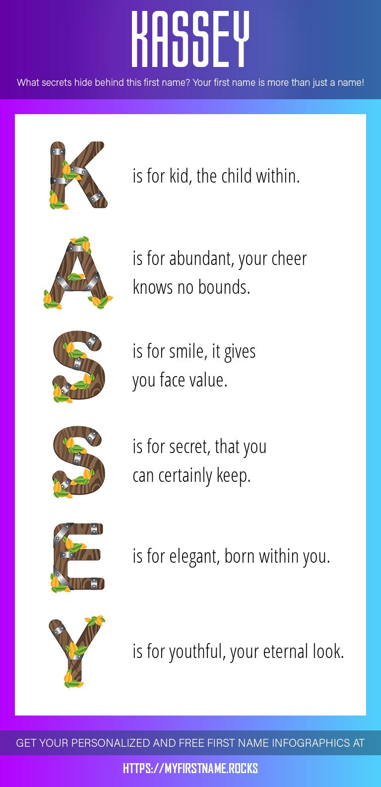 Kassey Infographics