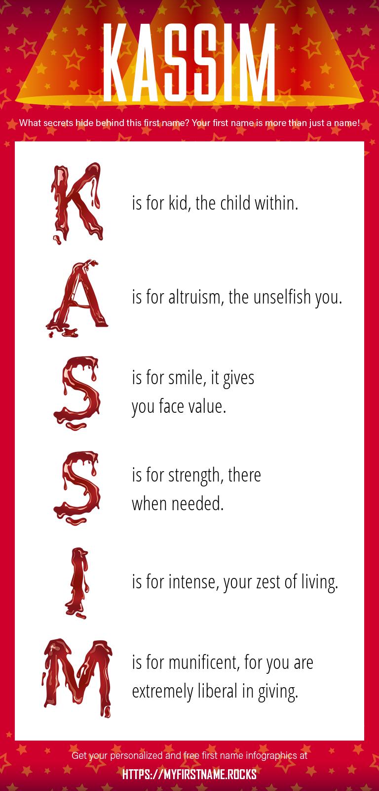 Kassim Infographics